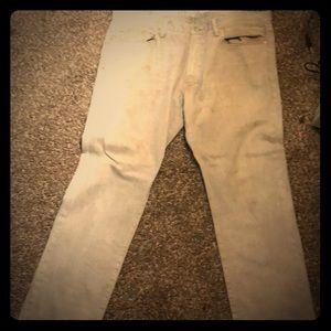 Other - Men's gap jeans 40 x 32 grayish tan color